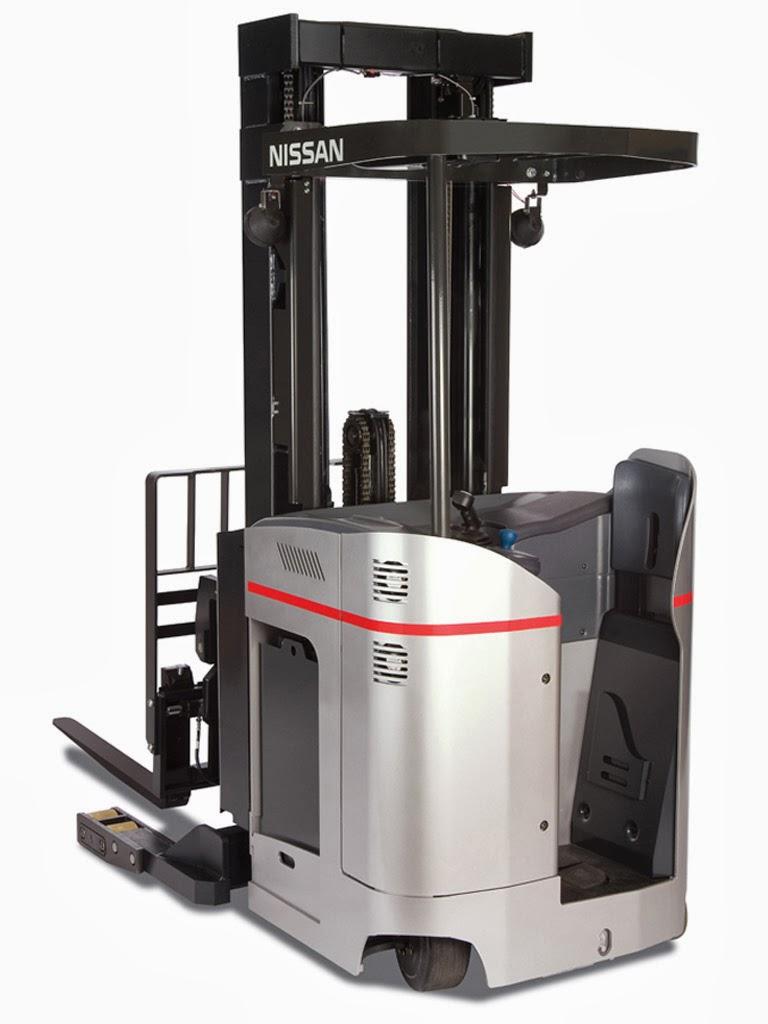 cho thue reach truck Nissan