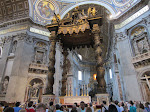 Closer to the Bronze Baldacchino