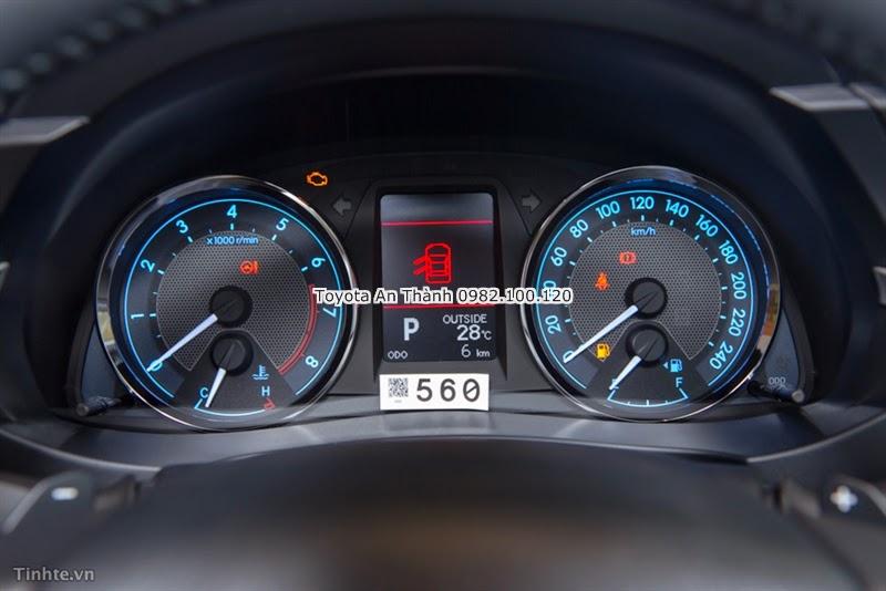 Khuyến Mãi Giảm Giá Xe Toyota Altis 2015 Mới - Cụm Đồng Hồ