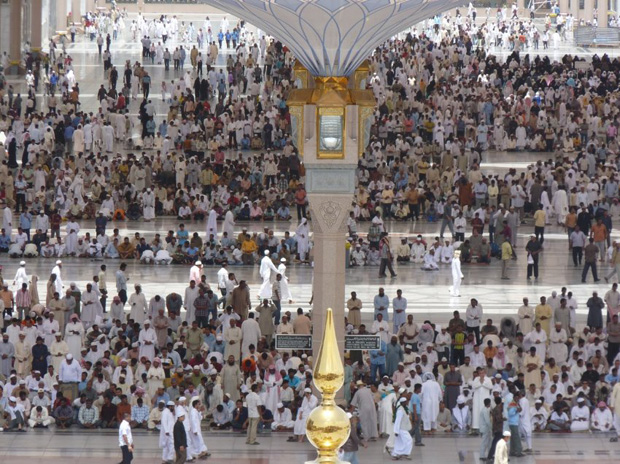 250 Umbrellas For Pilgrims in Medina