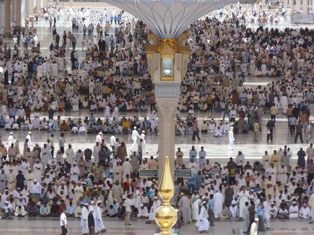 250 Umbrellas For Pilgrims in Medina
