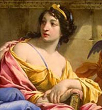 Goddess Kalliope Image