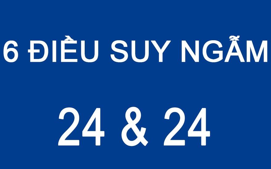 6 ĐIỀU SUY NGẪM