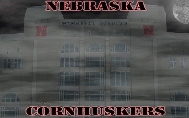 Nebraska Cornhuskers Memorial stadium Dark Moon