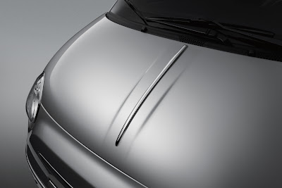 Fiat 500 Chrome Hood Moulding