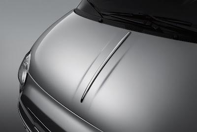Fiat 500 Chrome Hood Moulding