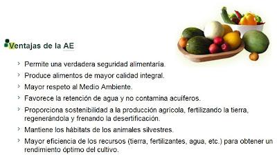 Resultado de imagen para ventajas agricultura ecologica