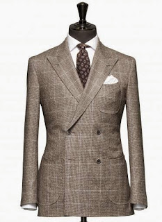 suit jacket with patch pockets