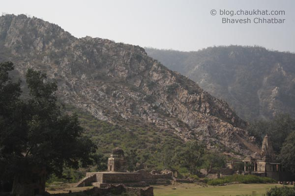 Bhangarh - Mountains