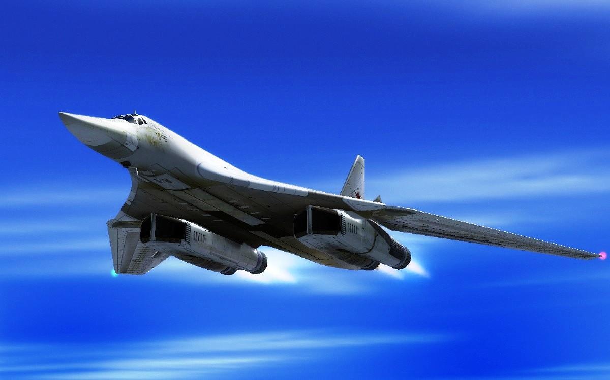 Tupolev Tu-160 Bomber Aircraft Wallpaper 1