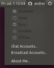 Messaging Menu