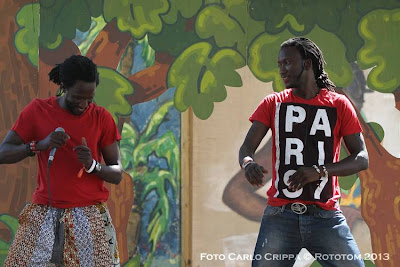 Benicassim, 18/08/2013 - Sunsplash 2013 - African Village / Danza Ndombolo - Photo by Carlo Crippa  © Rototom 2013