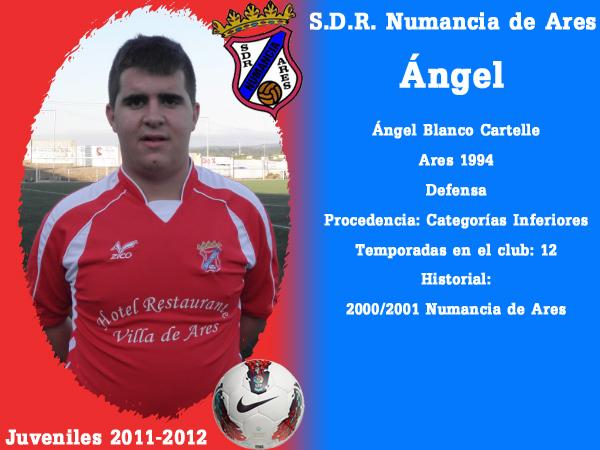 ADR Numancia de Ares. Xuvenís 2011-2012. ANGEL.
