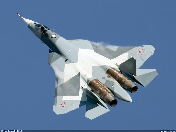 طلاء الذهب يخفى طائرة الشبح الروسيّة  تى 50  t50