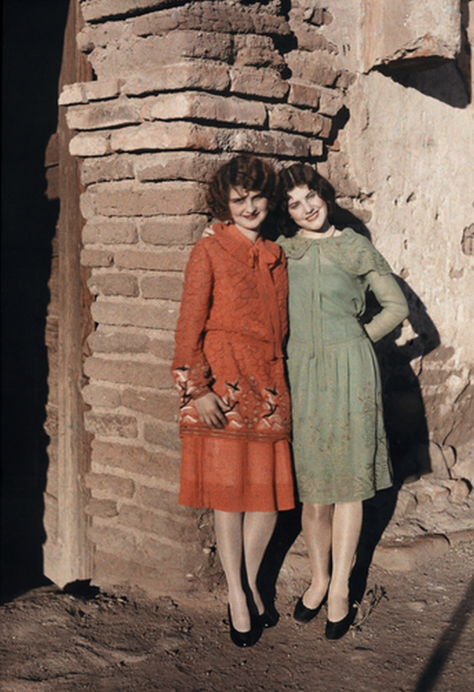 Two Flappers – Arizona – 1929 – National Geographic – Clifford ...