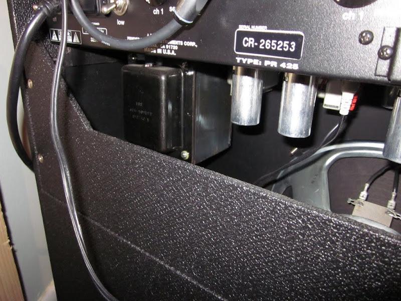 New guy, with a bit of an odd amp: Fender-era Sunn T50C