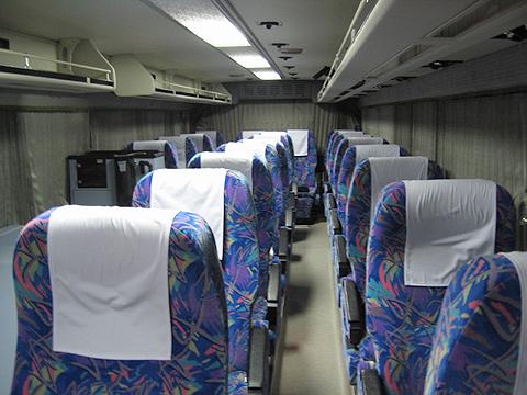 西武バス 名古屋線 1420 車内