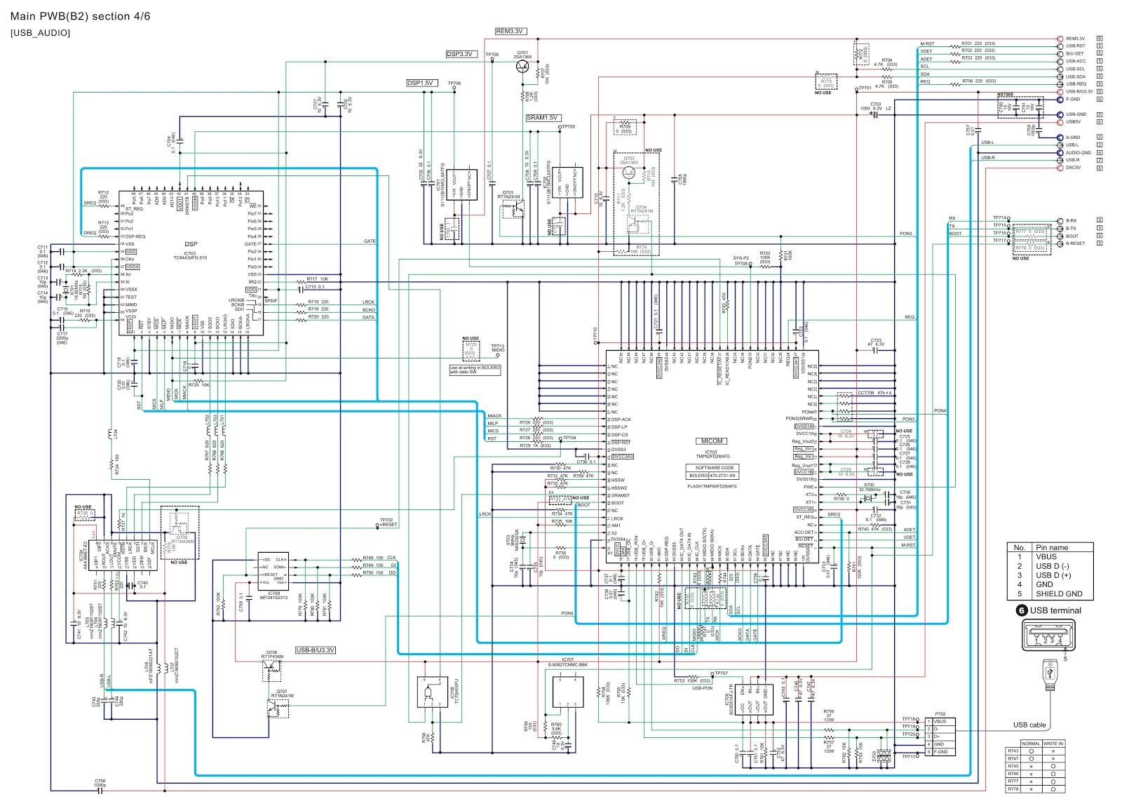 Clarion Nx700 Nx700e 2 Din Memory Navigation Dvd Wiring Diagram D Pwb