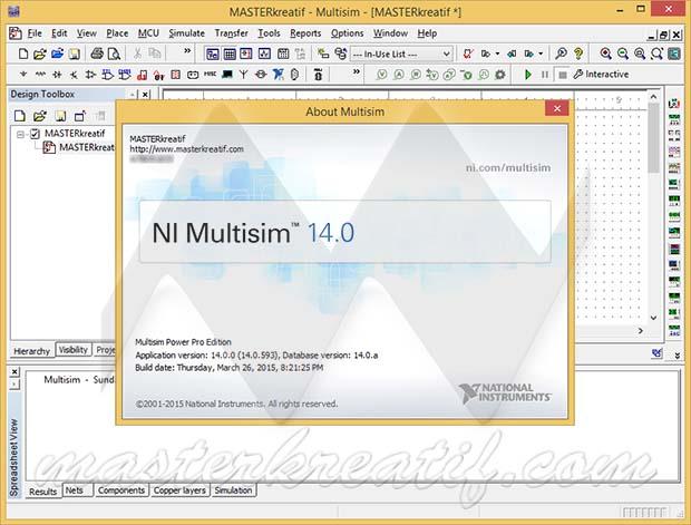 NI Multisim 14.0