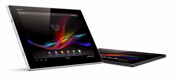 Celcom bundle Sony Xperia Tablet Z with First Data plans