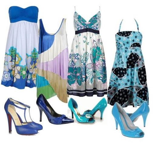 elbise ve ayakkabı kombinasyonları