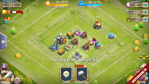 Sell Account castle clash have Pumpkin and Druid with over 61.000HB