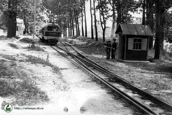 Детская железная дорога в Луцке