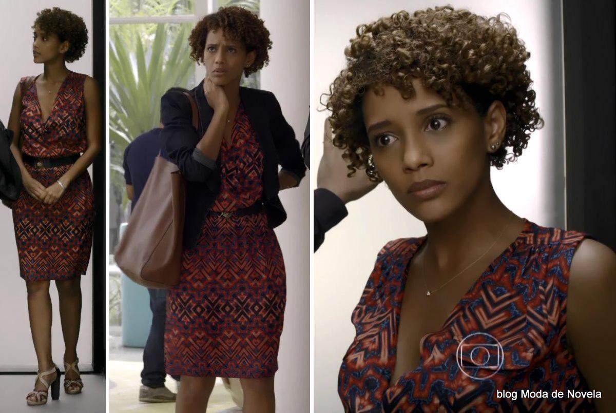 moda da novela Geração Brasil - look da Verônica dia 17 de maio