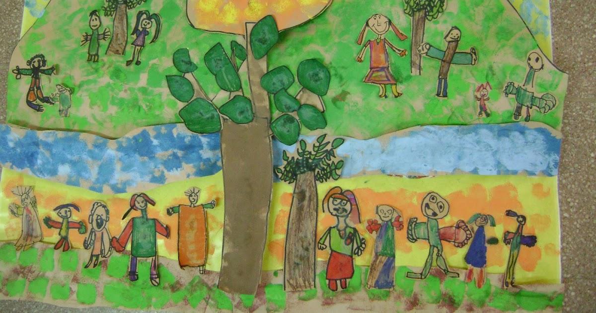 Decoraci n en el jard n de infantes medio ambiente for Decoracion jardin infantes
