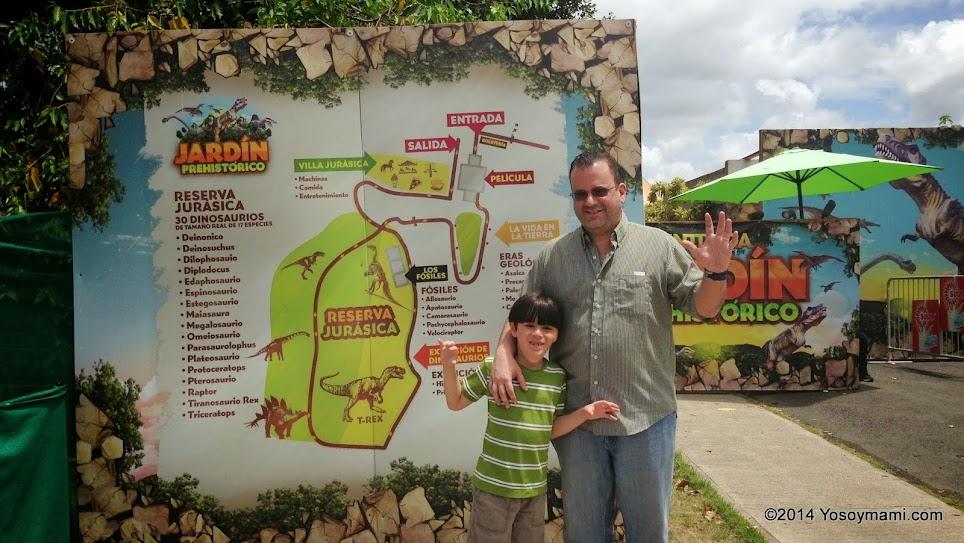 Visita el Jardín Prehistórico de los Dinosaurios en Caguas