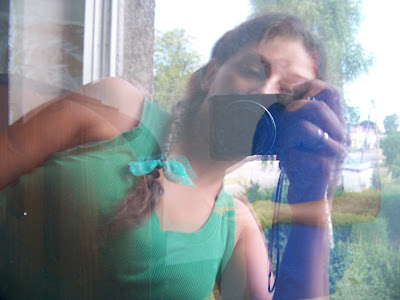 Ja i mój Dżej Dżej u boku po lewej to układ że hej hej ja i mój Dżej Dżej :)))Aparat forograficzny kodak
