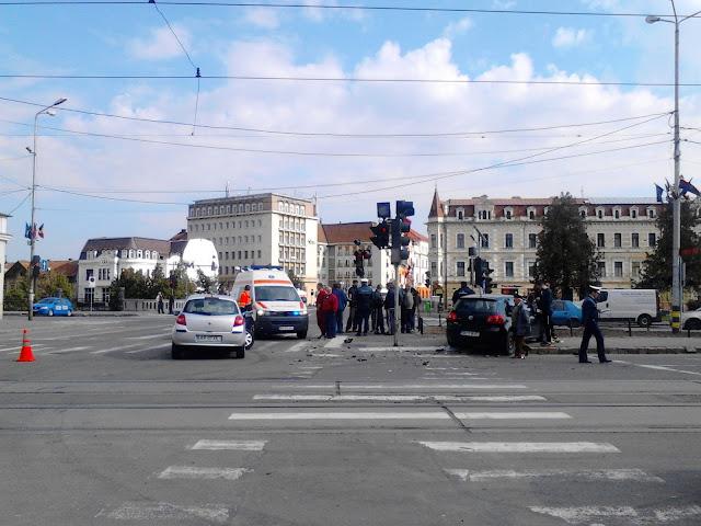 Accident în centrul Oradei #6