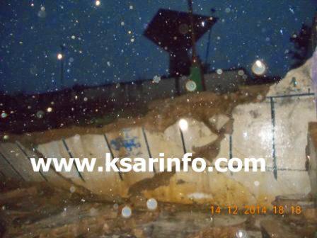 القصر الكبير: انهيار سور المدرسة الابتدائية محمد الحسين السوسي والخطر لا زال يهدد التلاميذ