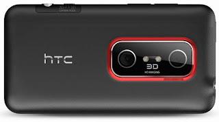 HTC Evo 3D smartphone pics