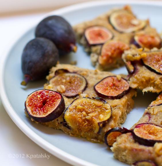 Fresh fig bars
