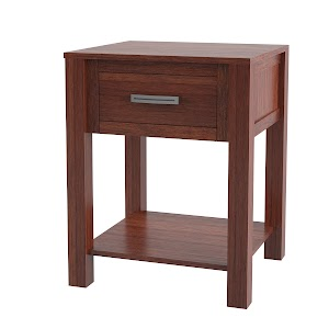 dakota nightstand with shelf