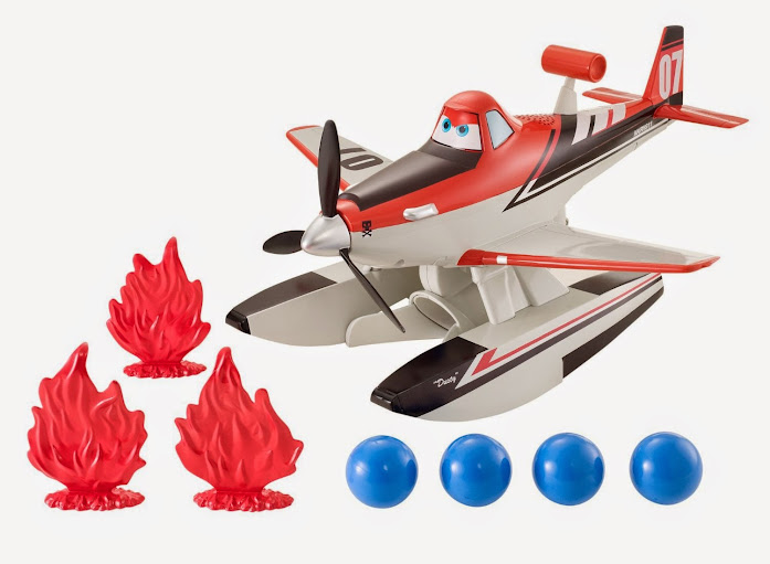 2014 Hot Toys Disney Planes: Fire & Rescue Blastin Dusty Vehicle