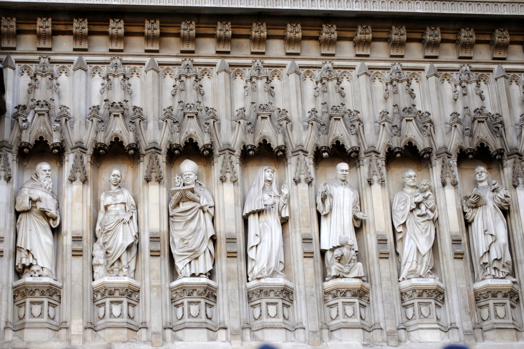 My Photos: London -- Westminster Abbey & Westminster Cathedral