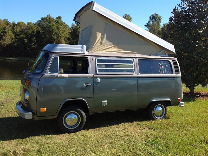 Buy Used 74 Vw Camper Westfalia Bus Campmobile Westy Popup