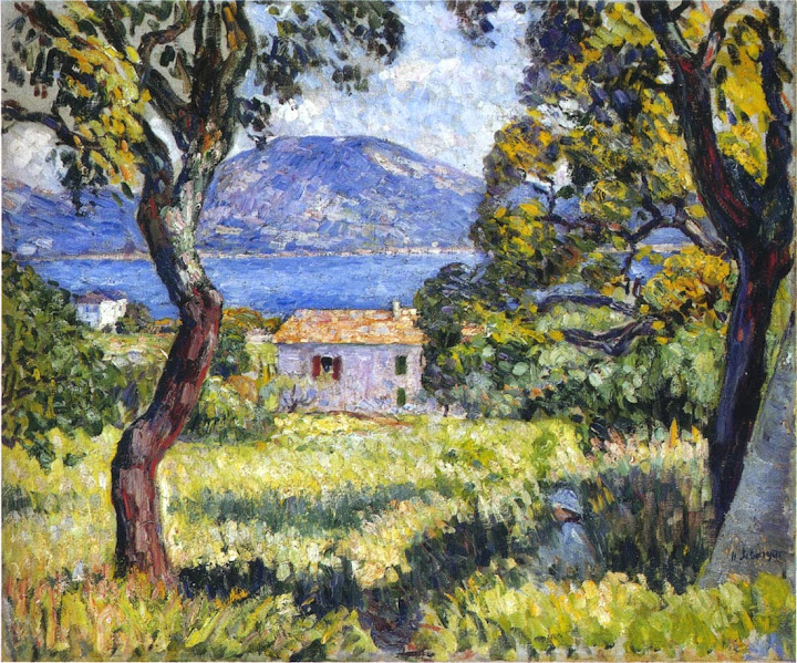 Henri Lebasque - View at Esterel