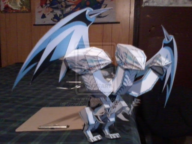 Blue Eyes Ultimate Dragon Papercraft