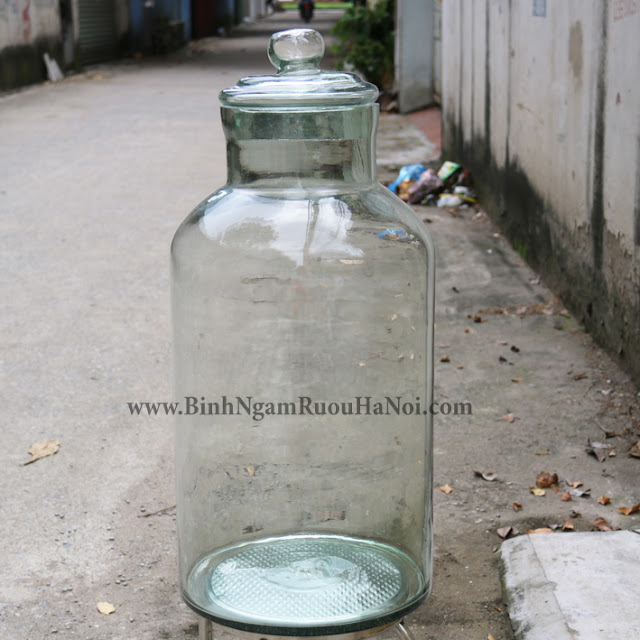 Binh ngam ruou Ha Noi 40 lit gia re