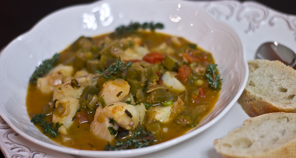 Gumbo with Fish and Okra