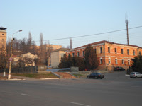 Здание штаба бывшего Черниговского полка в Киеве