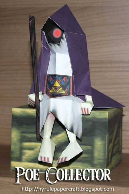 Ocarina of Time Poe Collector Papercraft