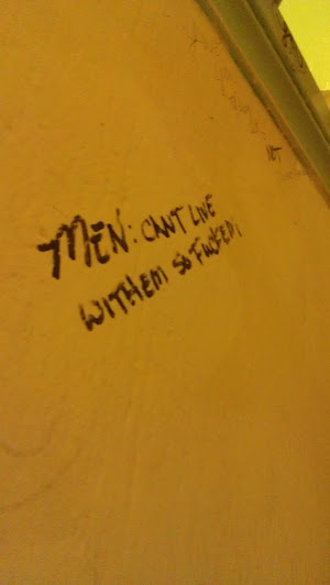 The Wisdom of Bathroom Graffiti