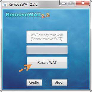 """วิธีแก้ไขเมื่อ Windows 7 เกิดอาการ """"จอดำ"""" RemoveWat003"""