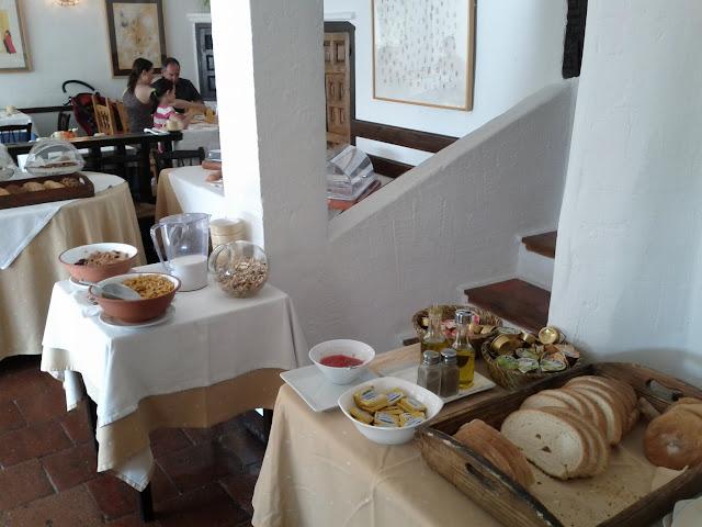 Desayuno Posada San Jose Cuenca