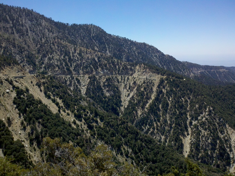 Angeles Crest Highway • View from Jarvi Memorial Vista
