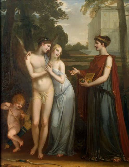 Pierre-Paul Prud'hon - Innocence Preferring Love to Wealth